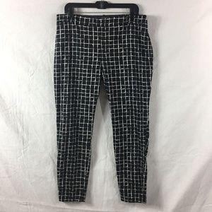 Zara Pants - Zara Woman Printed Skinny Leggings with Side Zip